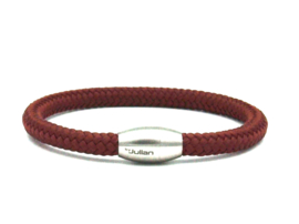 Laut bordeaux rood- 6mm