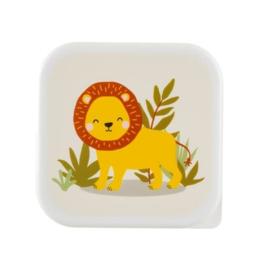 Lunchbox Savannah Safari Leeuw   Sass & Belle