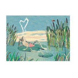 Postkaart | Kikker