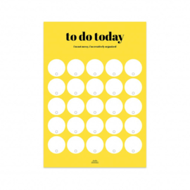 Planner - to do today