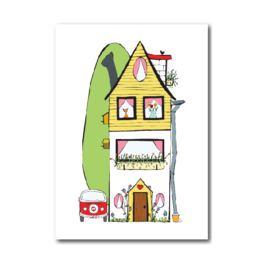 Postkaart | Home sweet home