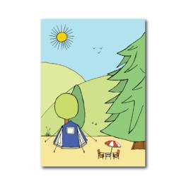 Postkaart | Tent