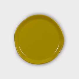 Good morning plate | Amber green