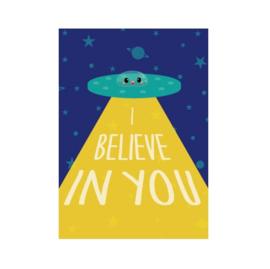 Postkaart | I believe in you