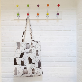 Tote bag / schoudertas | Katten