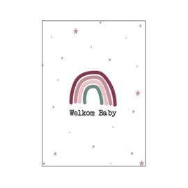 Postkaart | Welkom baby
