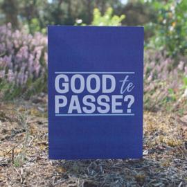 Dubbele kaart & envelop   Good te passe?