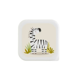 Lunchbox Savannah Safari Zebra   Sass & Belle