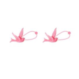 Haarelastieken Zwaluw | Roze