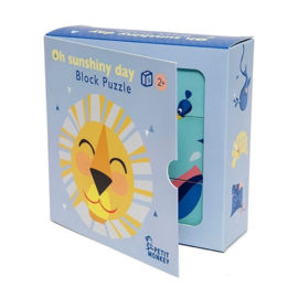 Blokken puzzel Oh shiny day | Petit Monkey