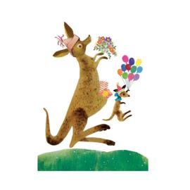 Postkaart | Kangaroo