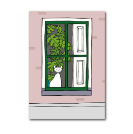 Postkaart | Raamkat