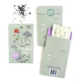 Bloemenzaden 'Vrolijkheid zaaien' | Veer&Moon