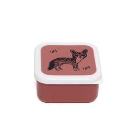 Lunchbox zwarte vos | Petit Monkey