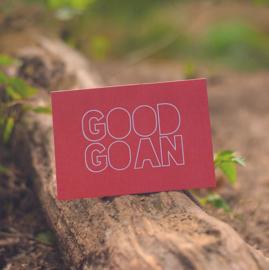 Dubbele kaart & envelop   Good goan