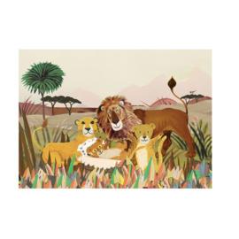 Postkaart | Leeuwen