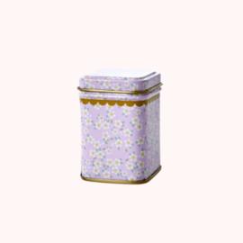 Bewaarblikje Bloemen Lavendel | Rice