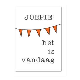 Postkaart | Joepie!