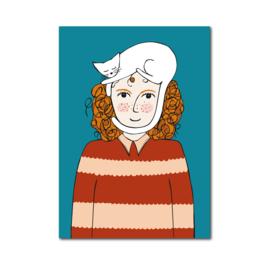 Postkaart | Catlady