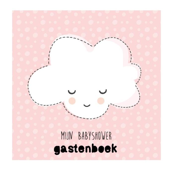 Invulboek | Babyshower gastenboek