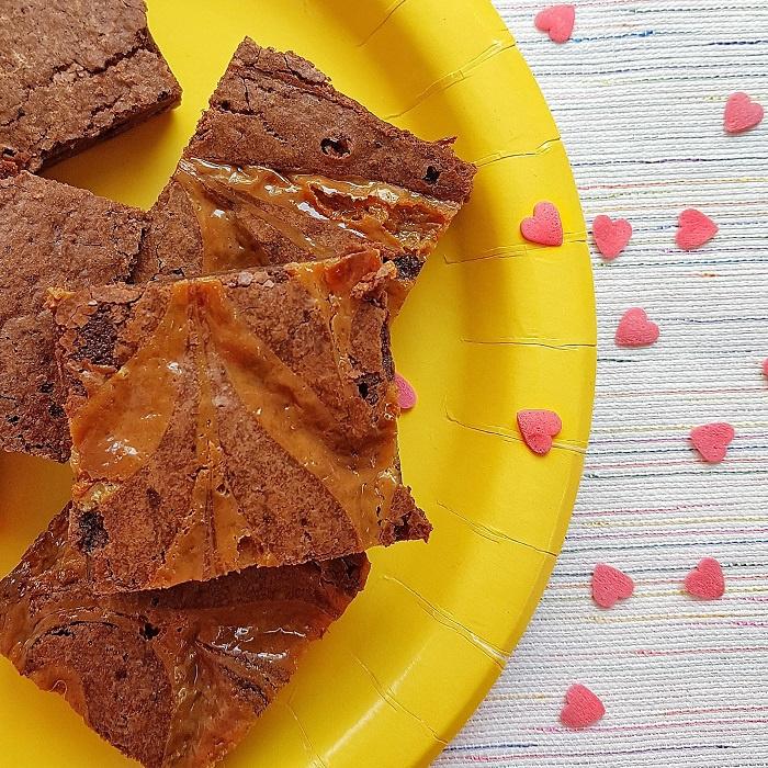 Brownies | Caramel/zeezout