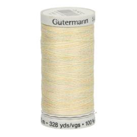 4012 Geel Blauw Groen Beige gemeleerd Gutermann