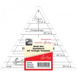 Lineaal driehoek