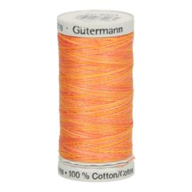 4003 Geel Oranje Rood gemeleerd Gutermann