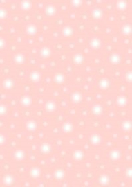Pale pink starry sky
