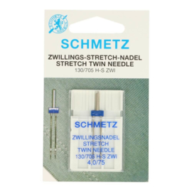 Tweelingnaald Stretch 4,0/75 Schmetz