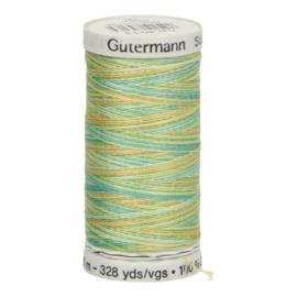4013 Blauw Geel Groen gemeleerd Gutermann