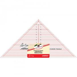 Lineaal voor driehoeken