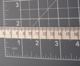 Centimeter zwart
