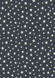 Glow stars on nighttime