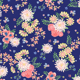 Blossoms Bouquet Navy