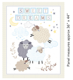 Sweet Dreams Paneel Pastel