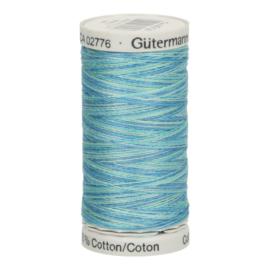 4014 Blauw Groen gemeleerd Gutermann