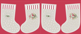 Cream Countryside Stockings
