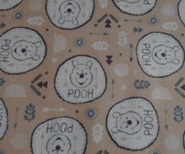 Winnie the Pooh Badges on Tan