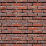 Brick Wall Red