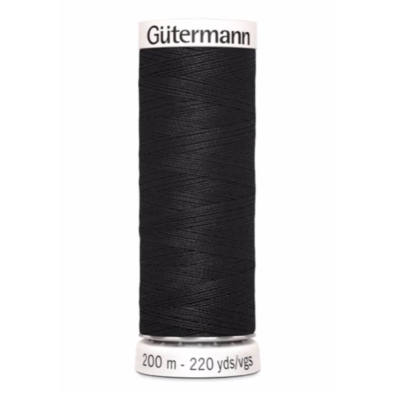 000 Zwart Gutermann