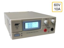 Regelbare voeding 0-60V, 0-10A