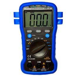 Multimeter met batterijtester