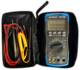 Multimeter, NCV, True RMS-meting