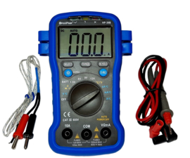 Multimeter met batterijtester