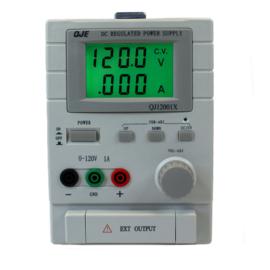 Regelbare voeding 0-120V, 0-1A