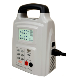 Mobiele multifunctionele laboratoriumvoeding 0-30V, 0-10A