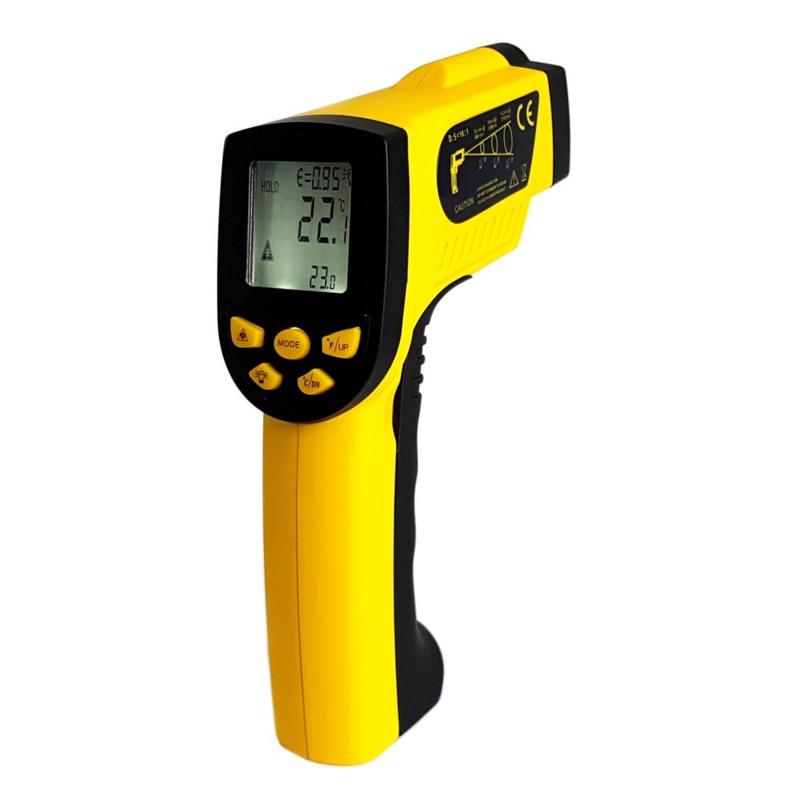 Infrarood thermometer -50+1300 ° C