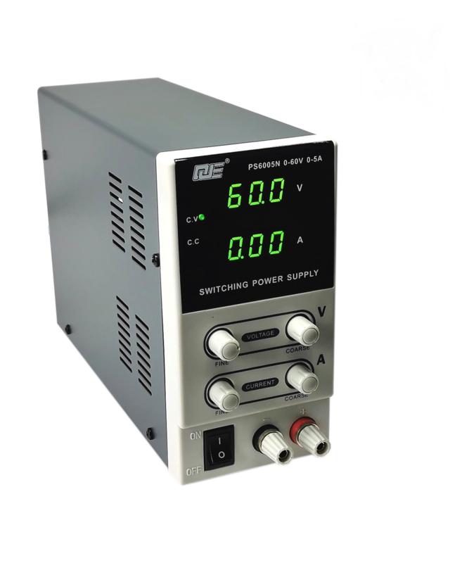 Regelbare voeding 60V/5A