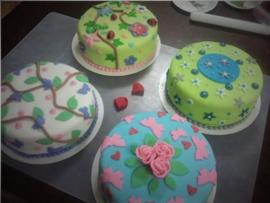 Basis taart decoreren